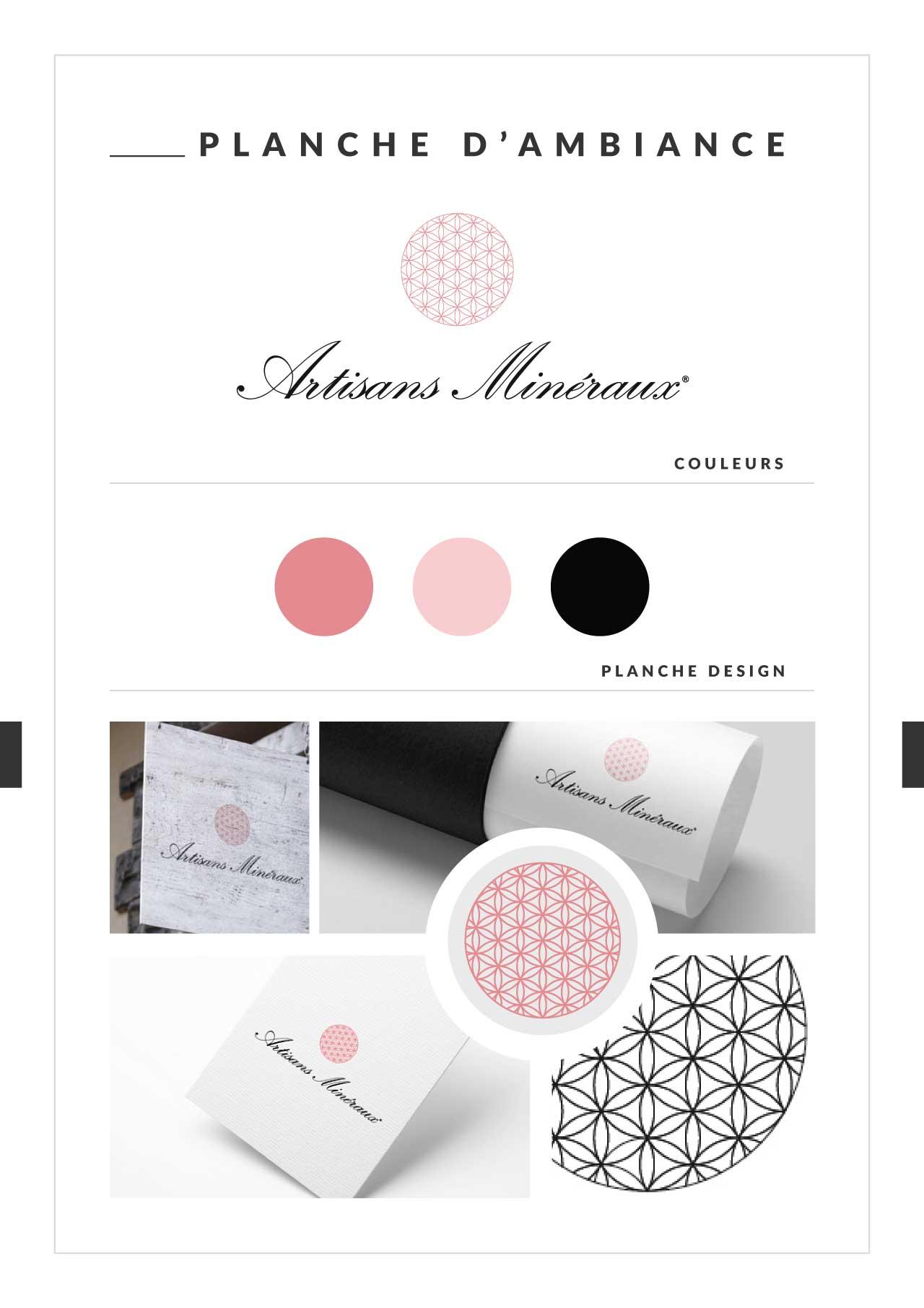 [XT DESIGN WEB] creation logo Artisans Minéraux planche